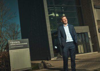 Troels Blicher Danielsen, adm. direktør i TEKNIQ Arbejdsgiverne.